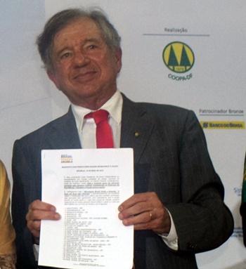 Vladimir Freitas ex- presidentVladimir Freitas, assessor especial do Ministério da Justiça.